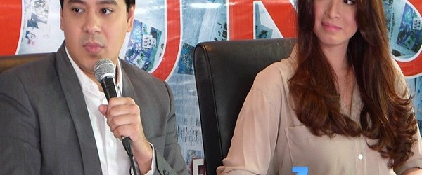 """Unofficially Yours"" Press conference with John Lloyd Cruz and Angel Locsin"