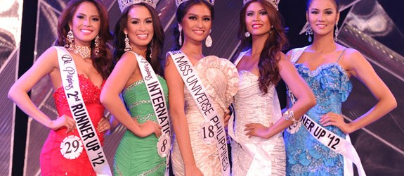 The Binibining Pilipinas 2012  Grand Winners