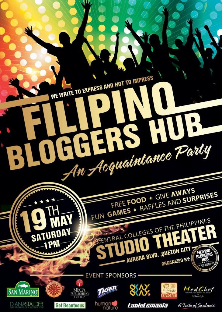 Filipino Bloggers Hub: A Simple Acquaintance Party