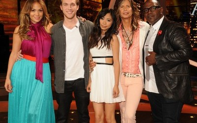 Jessica Sanchez and Philip Philips on Final 2 American Idol