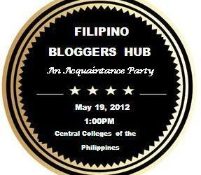 Filipino Bloggers Hub: A Simple Acquaintance Party