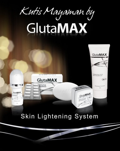 For a WHITER and HEALTHIER YOU... GlutaMAX Reduced Glutathione Capsules