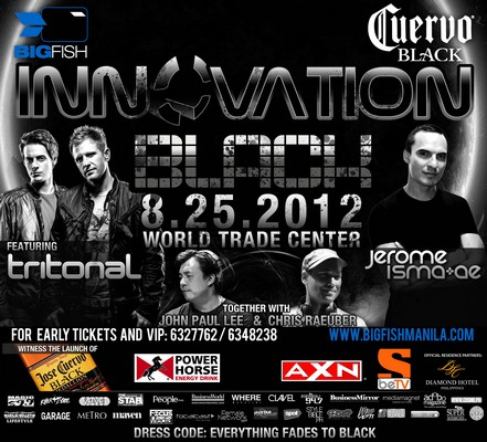 The Black Party is Here...BIGFISH Innovation BLACK 2012