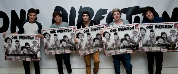 One Direction Reach An Incredible 12 Million Sales In Less Than A Year