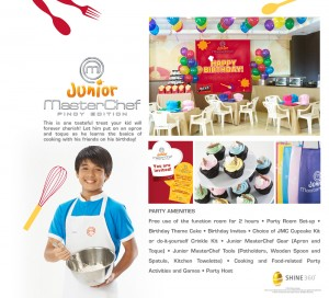 FA Birthday Parties Catalogue JMC