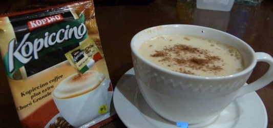 Coffee with a twist of Chocolate… KOPIKO Kopiccino