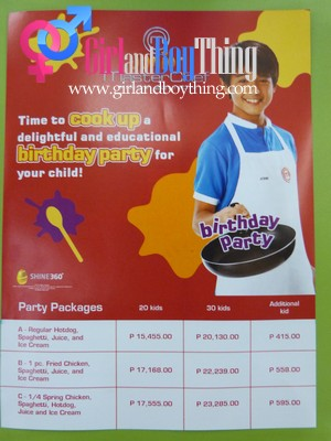 Max's Junior Master Chef Party Theme