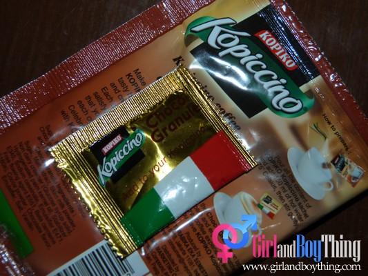 Coffee with a twist of Chocolate... KOPIKO Kopiccino