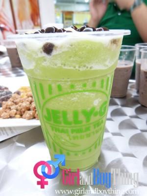 Jelly-G Thai Milk Tea...A HEALTHY Option for your Milk Tea Cravings