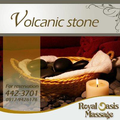 royal oasis volcanic rock