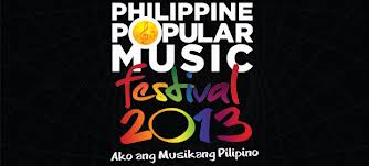 Philippine Popular Music Festival 2013 Top 12 Finalist Named