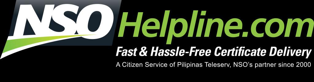 NSO Helpline logo black