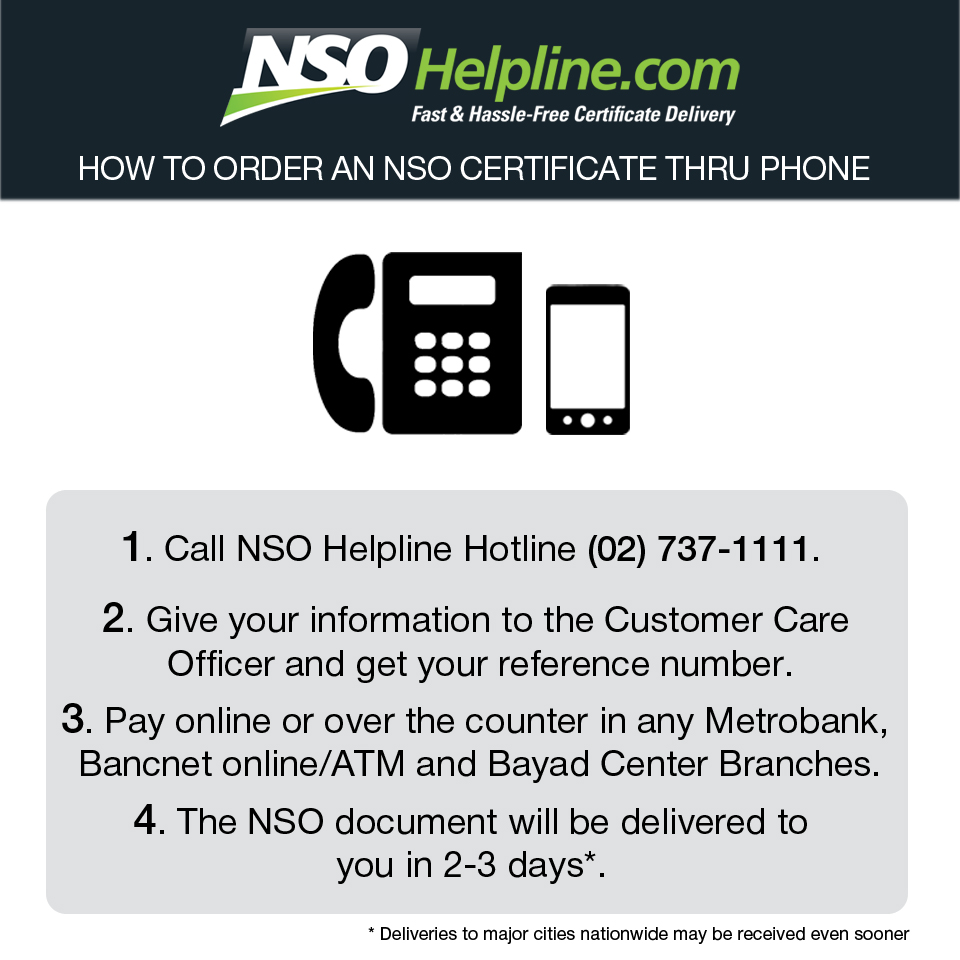 NSO birth certificate tips phone 2