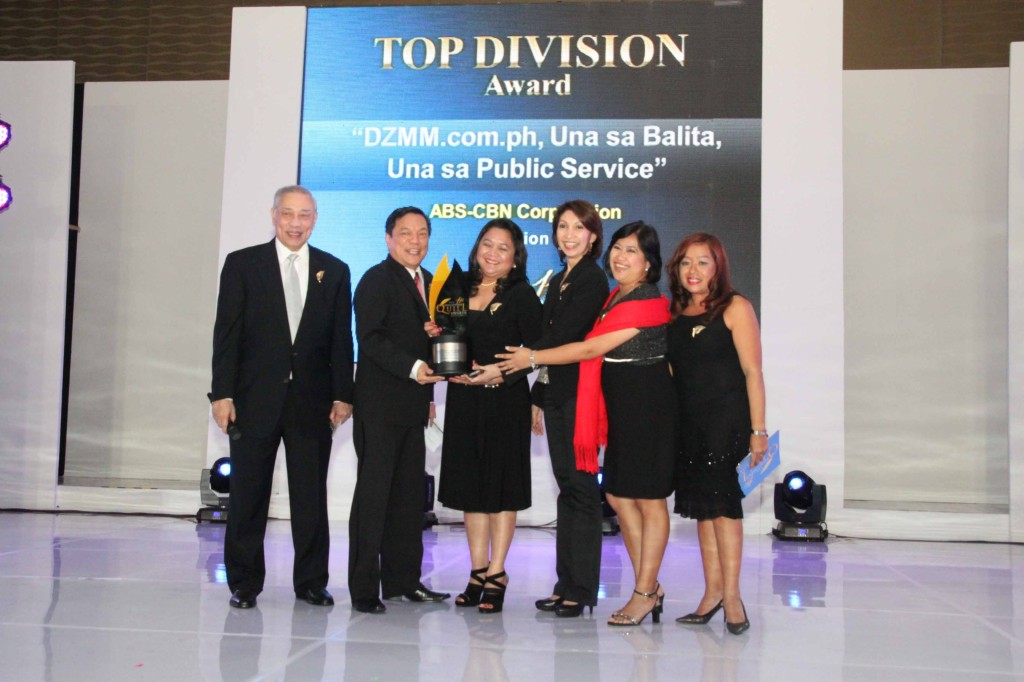 Top Award in Comm Skills-ABS-CBN Corporation