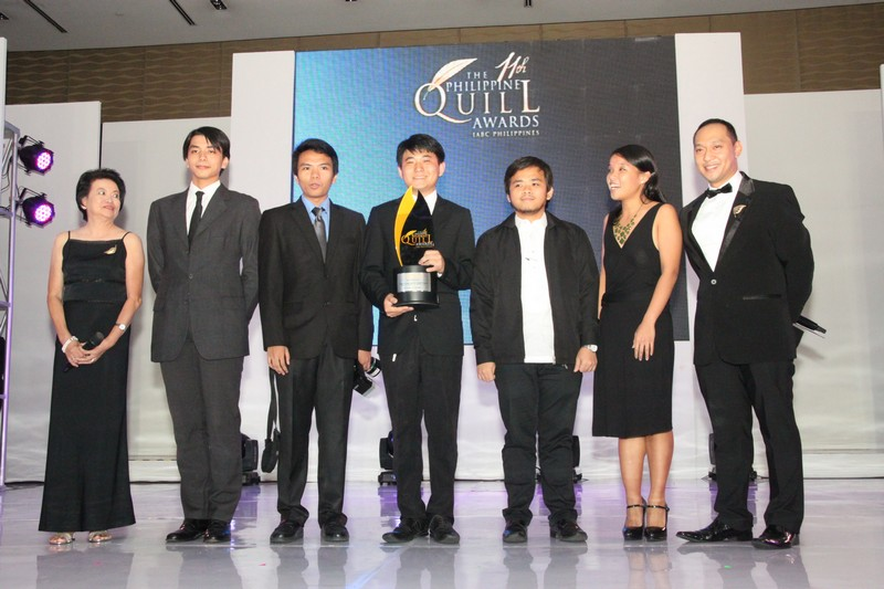 Top Award in Student Division-De la Salle University