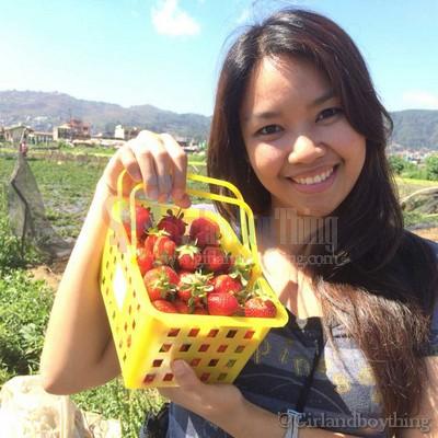 Strawberry farm Girlandboything7