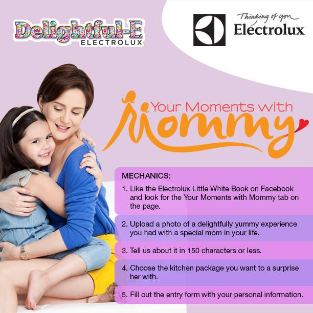 electrolux share your moments with mommy