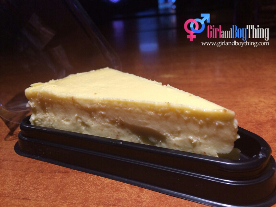 pink wasabi durian cheesecake