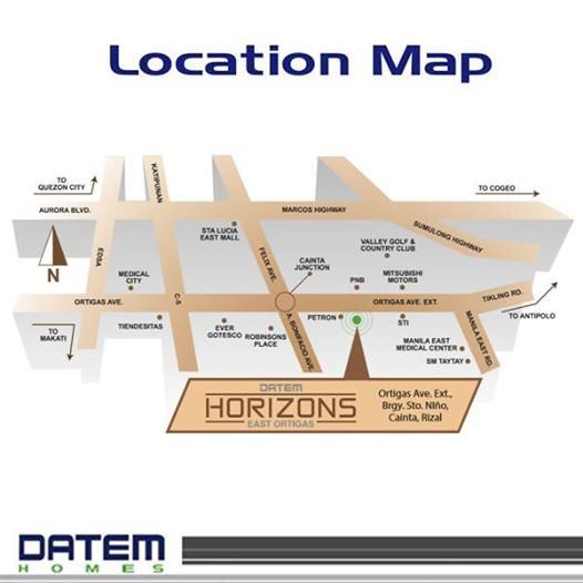 DATEM horizons east ortigas map gbt