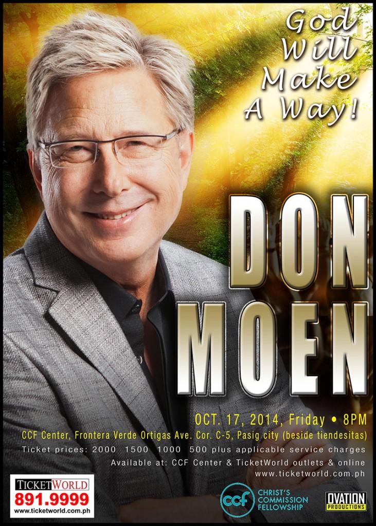 Don Moen concert 2014