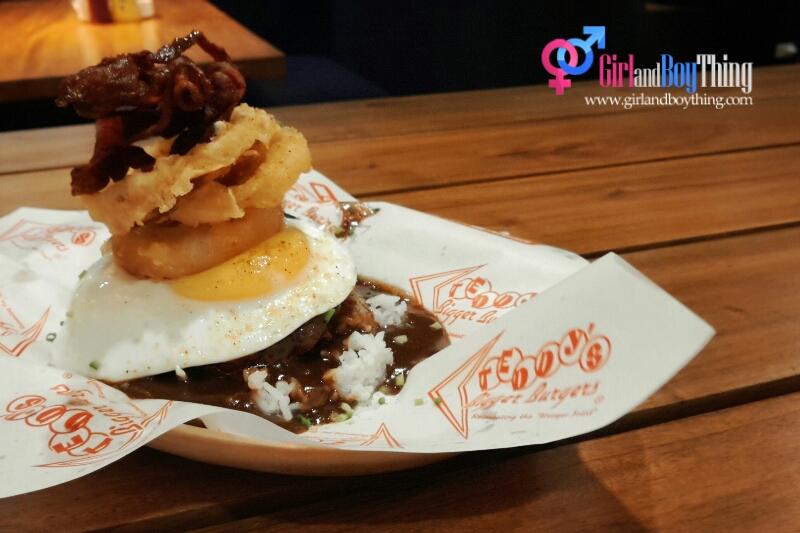 Teddy's Bigger Burgers All day Breakfast gbt 5