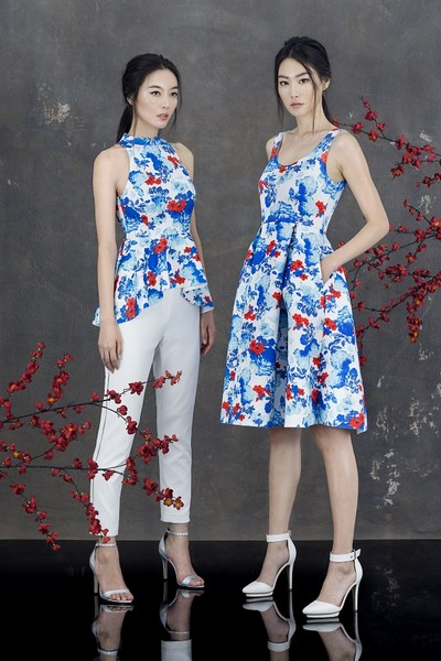 zalora CHINOISERIE CHIC LUNAR NEW YEAR COLLECTION  gbt 3