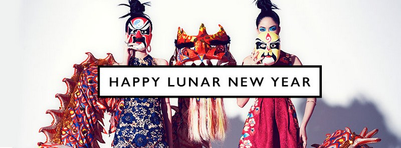 zalora CHINOISERIE CHIC LUNAR NEW YEAR COLLECTION  gbt 4