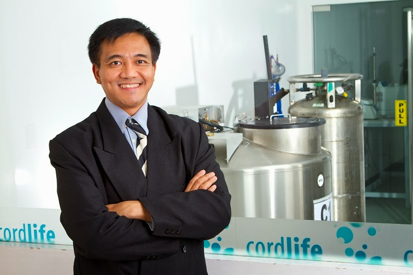 Dr. Arvin Faundo, Medical Director, Cordlife Philippines