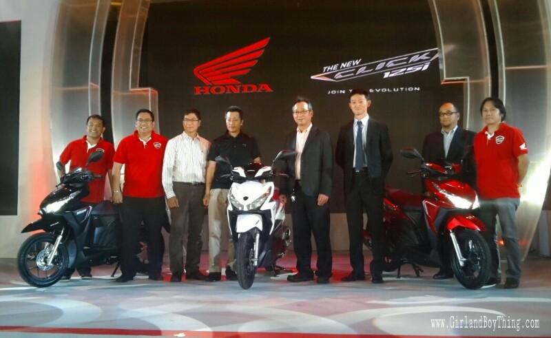 Honda Click125i gbt 5