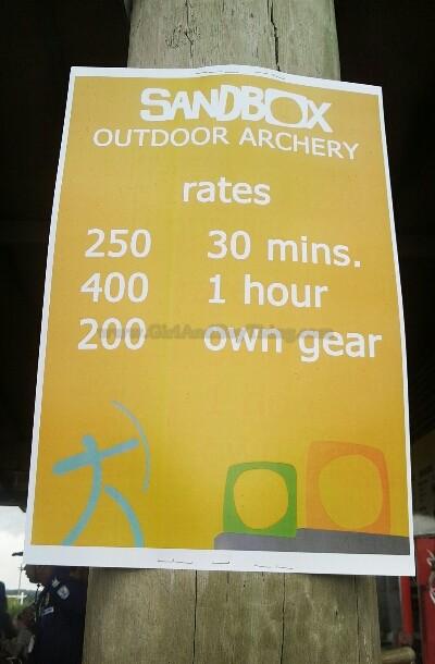 Oculus Archery range Sandbox Gbt3
