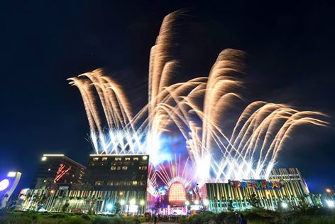 city of dreams manila grand opening fireworks display