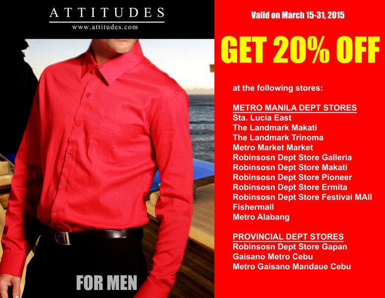 ATTITUDES APPAREL SEVEN DAYS SUPER SALE3