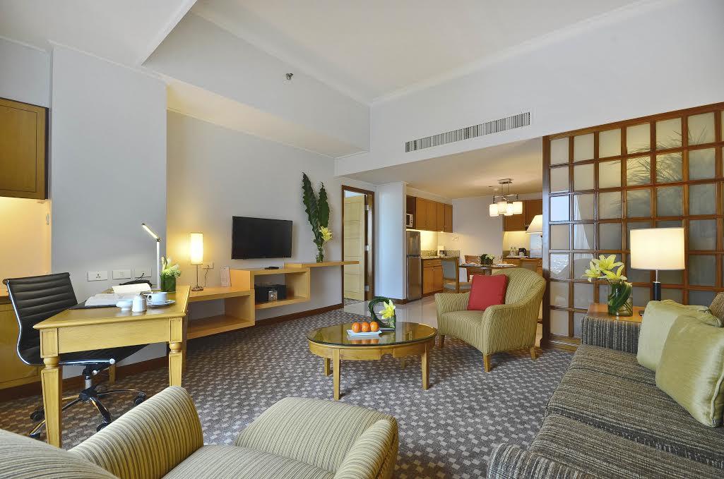 One Bedroom Suite's living room