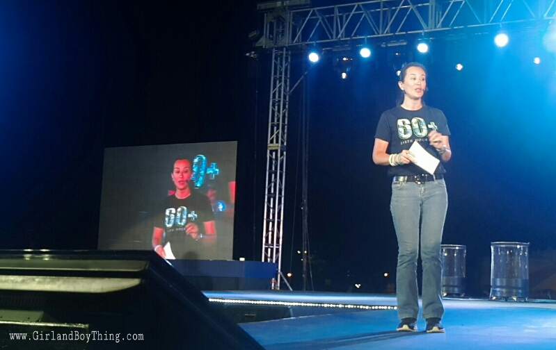 Mikee Cojuanco-Jaworski Earth Hour 2015