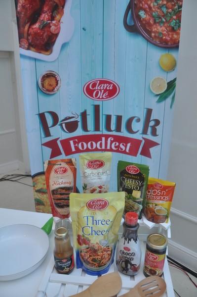 clara ole potluck foodfest1