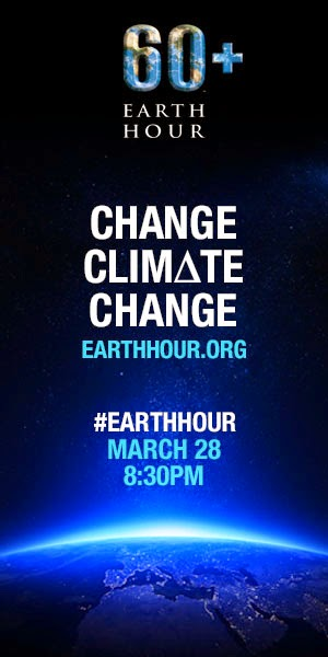 earthhour 2015 banner