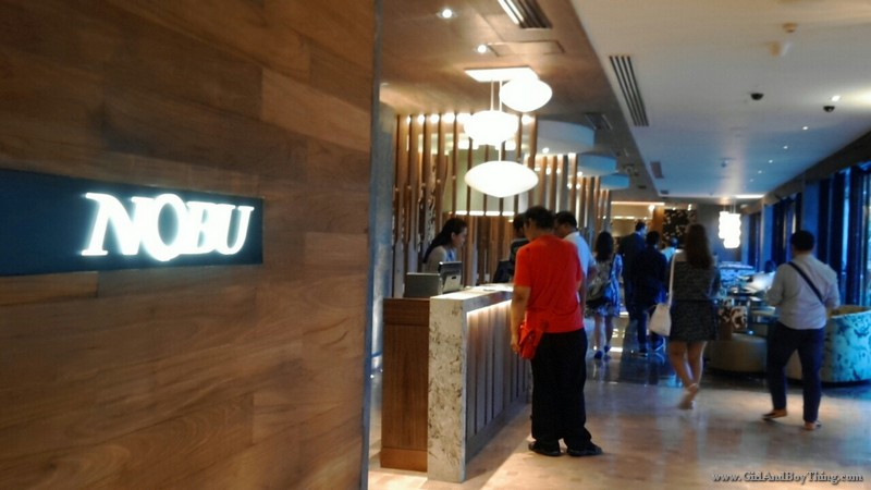 Nobu Restaurant City of Dreams Manila