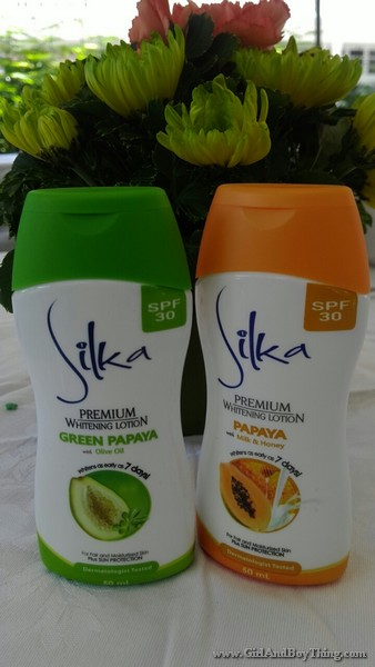 Silka Premium Whitening Lotion With SPF 30