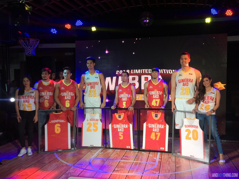 2018 Limited Edition Ginebra Ako Jersey Collection