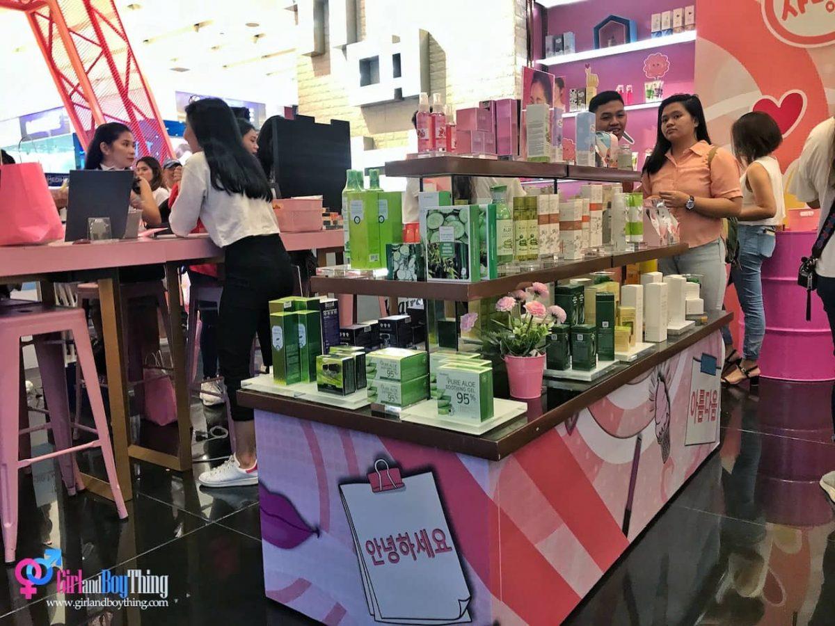 SM Beauty K-Beauty zone makati