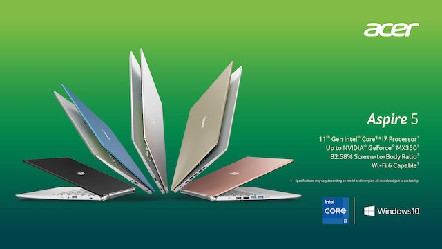 Acer Swift, Spin and Aspire Series: The Rise of The New Powerful Consumer Notebooks