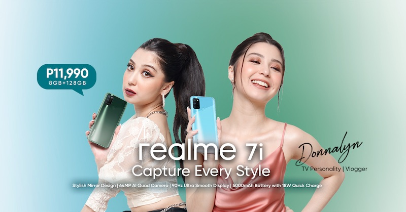 realme 7i Now Available In The Philippines for only Php11,990