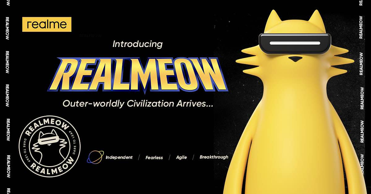 REALMEOW: realme's Official Brand Character Is Finally Out!