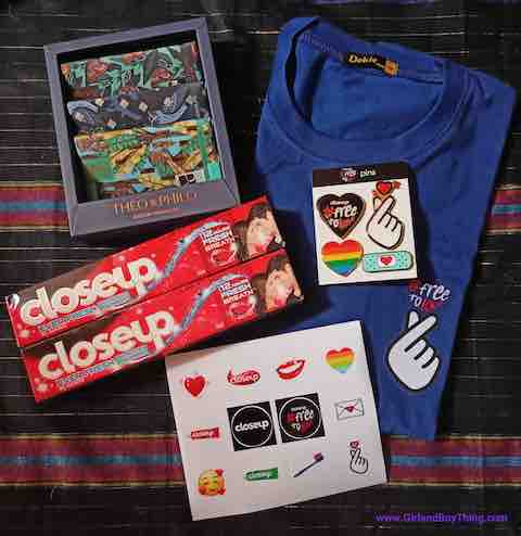 Get LIMITED EDITION Goodies at Closeup #FreeToLove Sale In Shopee From Feb 8-14!