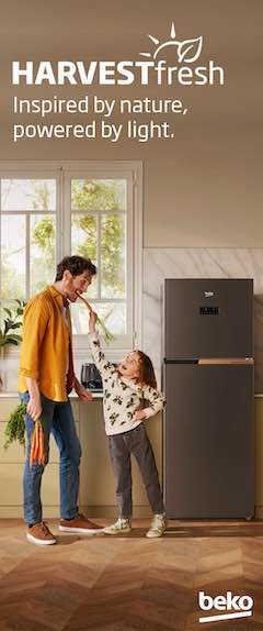 Beko HARVESTFresh Helps Stored Fruits and Vegetables Stay Nutritious Longer