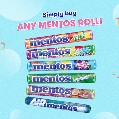 Choose The Prize You Want With Mentos #ChooseFresh Promo