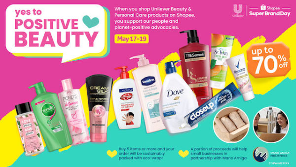 YES TO POSITIVE BEAUTY MOVEMENT:  Unilever PH's Commitment About Positive Change