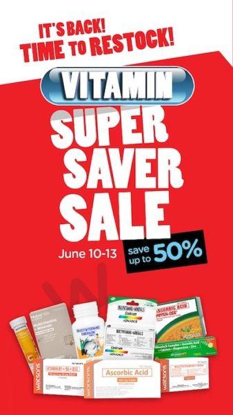 Watsons Vitamins Super Saver Sale Is Back!