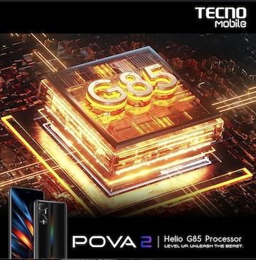 Pre-sale for TECNO Mobile's POVA 2 Gaming Phone Begins On June 5!