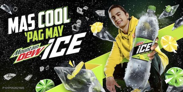 "Mountain Dew Ice ""Mas cool"" Campaign Parody Videos Stars Brand Ambassador James Reid"